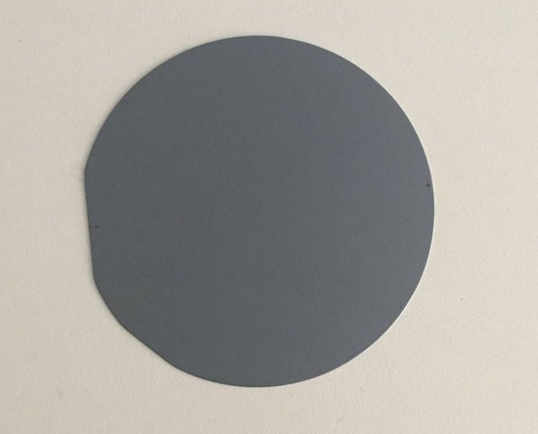 Grinding silicon wafer
